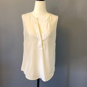 Sleeveless Vneck Blouse